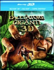 Il cacciatore di giganti 3D (Blu-ray + Blu-ray 3D) di Bryan Singer