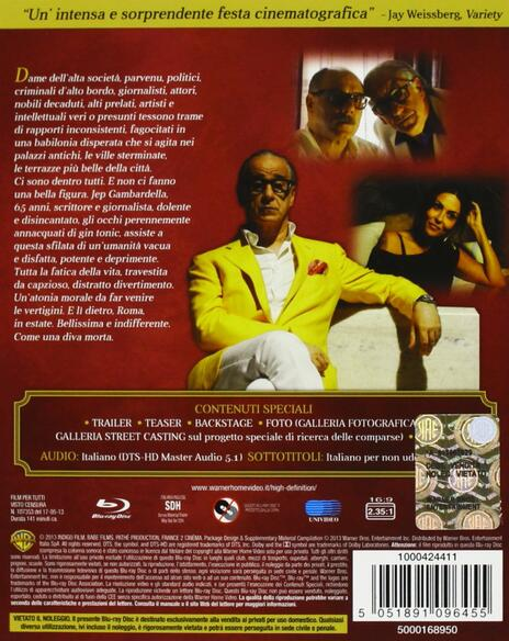 La grande bellezza di Paolo Sorrentino - Blu-ray - 2