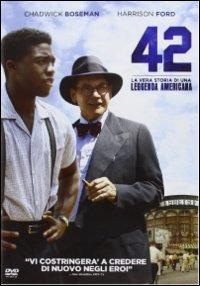 Cover Dvd 42. La vera storia di una leggenda americana (DVD)