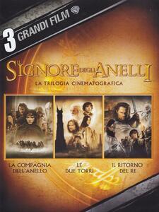 Il Signore degli anelli. Trilogia (3 DVD) di Peter Jackson