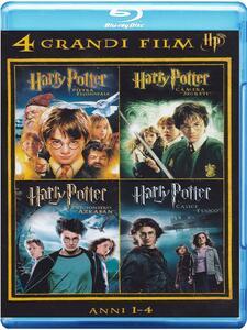 Film Harry Potter. 4 grandi film. Vol. 1 (4 Blu-ray) Chris Columbus Alfonso Cuaron Mike Newell