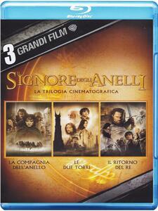 Il Signore degli anelli. La trilogia (3 Blu-ray) di Peter Jackson