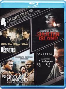 4 grandi film. Leonardo DiCaprio (4 Blu-ray) di Clint Eastwood,Martin Scorsese,Edward Zwick