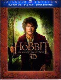 Cover Dvd Hobbit. Un viaggio inaspettato 3D (Blu-ray)