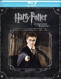 Cover Dvd Harry Potter e l'ordine della Fenice (Blu-ray)