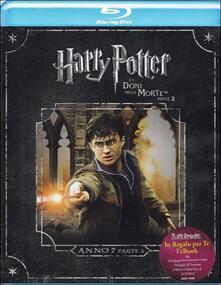Harry Potter e i doni della morte. Parte 2 di David Yates - Blu-ray