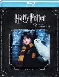 Cover Dvd Harry Potter e la pietra filosofale (Blu-ray)