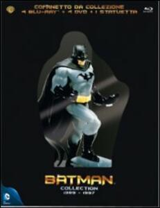 Batman Collection 1989 - 1997 (8 Blu-ray) di Tim Burton,Joel Schumacher