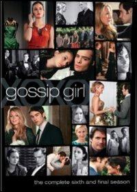 Cover Dvd Gossip Girl. Stagione 6 (DVD)