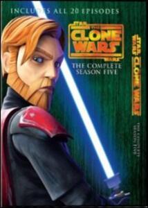 Star Wars. The Clone Wars. Stagione 5 (4 DVD) - DVD