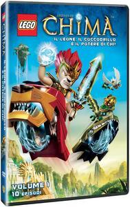 Lego. Legends of Chima. Stagione 1. Vol. 1. Il leone, il coccodrillo e il potere di Chi! (DVD) - DVD