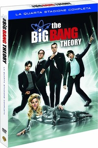 Cover Dvd Big Bang Theory. Stagione 4 (DVD)