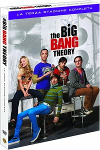Cover Dvd Big Bang Theory. Stagione 3 (DVD)