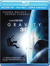 Cover Dvd Gravity 3D (Blu-ray)