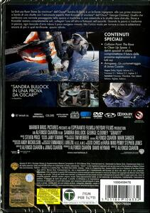 Gravity di Alfonso Cuaron - DVD - 2