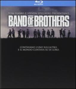 Band Of Brothers. Fratelli al fronte di David Frankel,Tom Hanks,David Leland,Richard Loncraine,David Nutter,Phil Alden Robinson,Mikael Salomon,Tony To - Blu-ray