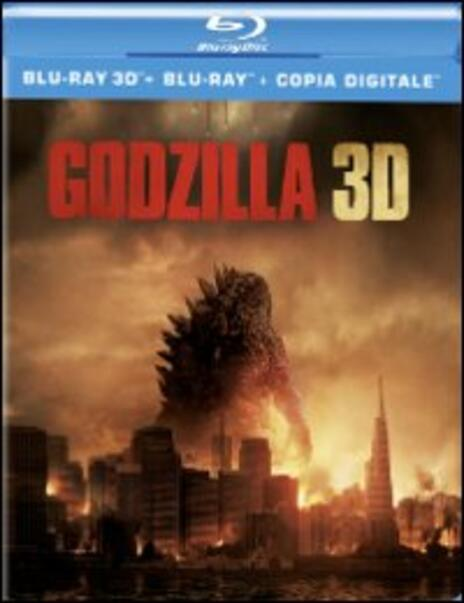 Godzilla 3D (Blu-ray + Blu-ray 3D)<span>.</span> versione 3D di Gareth Edwards - Blu-ray + Blu-ray 3D