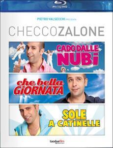 Checco Zalone. La triloggia (3 Blu-ray) di Gennaro Nunziante