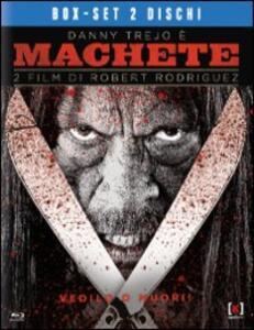 Machete. Machete Kills (2 Blu-ray) di Ethan Maniquis,Robert Rodriguez