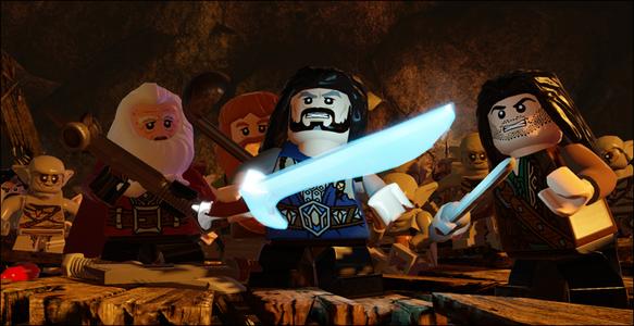 Videogioco LEGO Lo Hobbit Nintendo Wii U 2