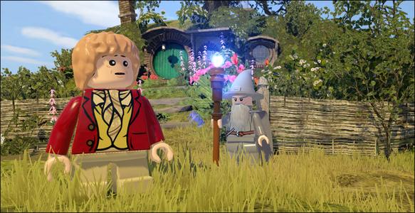 Videogioco LEGO Lo Hobbit Nintendo Wii U 3