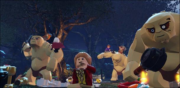 Videogioco LEGO Lo Hobbit Nintendo Wii U 4