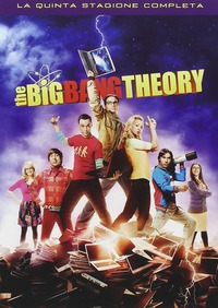 Cover Dvd Big Bang Theory. Stagione 5 (DVD)