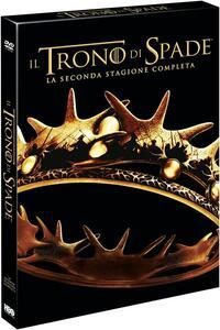 Il trono di spade. Game of Thrones. Stagione 2. Serie TV ita (5 DVD) - DVD