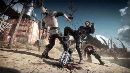 Videogioco Mad Max PlayStation4 2