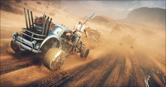 Videogioco Mad Max PlayStation4 4
