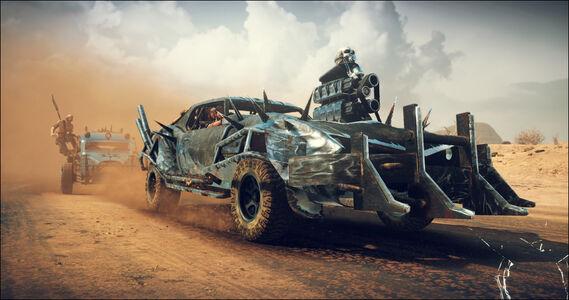 Videogioco Mad Max PlayStation4 6