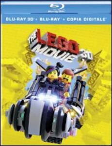 The Lego Movie 3D (Blu-ray + Blu-ray 3D) di Phil Lord,Chris McKay,Christopher Miller