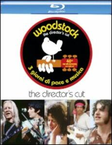Woodstock (2 Blu-ray)<span>.</span> 40th anniversary revisited di Michael Wadleigh - Blu-ray