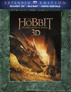 Lo Hobbit. La desolazione di Smaug 3D. Extended Edition (3 Blu-ray + 2 Blu-ray 3D) di Peter Jackson