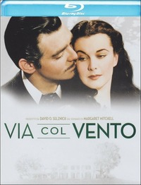 Cover Dvd Via col vento (Blu-ray)