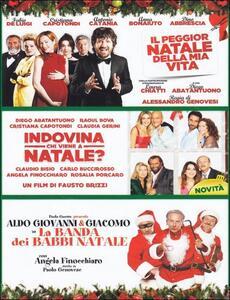 Risate sotto l'albero (3 DVD) di Fausto Brizzi,Paolo Genovese,Alessandro Genovesi