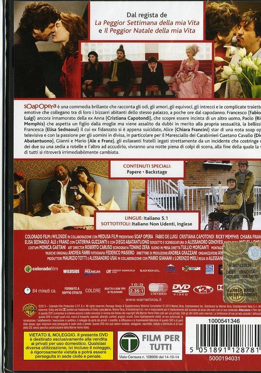 Soap Opera di Alessandro Genovesi - DVD - 2