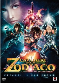 Cover Dvd Cavalieri dello Zodiaco. La leggenda del Grande Tempio (DVD)
