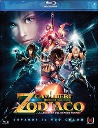 Cover Dvd Cavalieri dello Zodiaco. La leggenda del Grande Tempio (Blu-ray)