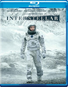 Interstellar di Christopher Nolan - Blu-ray
