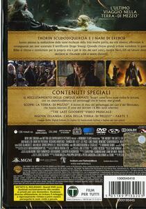 Lo Hobbit. La battaglia delle cinque armate (2 DVD)<span>.</span> Edizione speciale di Peter Jackson - DVD - 2