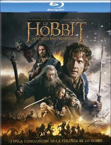 Lo Hobbit. La battaglia delle cinque armate (2 Blu-ray) di Peter Jackson - Blu-ray