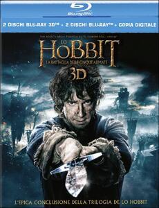 Lo Hobbit. La battaglia delle cinque armate 3D (2 Blu-ray + 2 Blu-ray 3D) di Peter Jackson