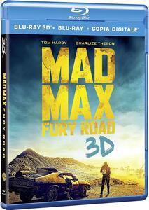 Mad Max. Fury Road 3D (Blu-ray + Blu-ray 3D) di George Miller - Blu-ray + Blu-ray 3D