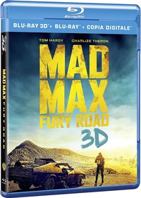 Cover Dvd Mad Max. Fury Road 3D (Blu-ray)