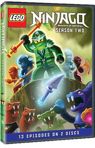 Lego Ninjago. Stagione 2 - DVD