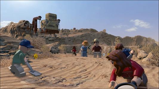 Videogioco LEGO Jurassic World PlayStation4 6