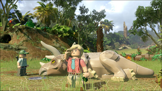 Videogioco LEGO Jurassic World PS Vita 3