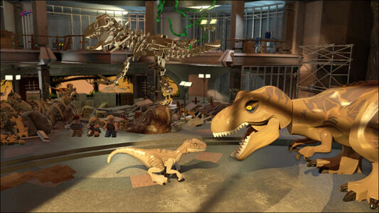 Videogioco LEGO Jurassic World PS Vita 8