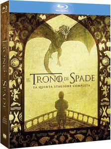 Il trono di spade. Stagione 5 (Serie TV ita) (4 Blu-ray) - Blu-ray